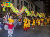 Chinese new year parade — Stock Photo