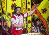 Китайский парад нового года — Стоковое фото