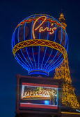 Las Vegas, Paris hotel  — Stock Photo
