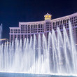 Las Vegas , Bellagio fountains — Stock Photo #51492609
