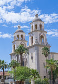 The Cathedral of Saint Augustin in Tucson — Stock Photo