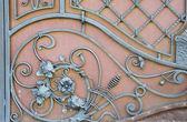 Metal parts doors — Stock Photo