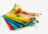 Composition of a school subject to the Teachers' Day — Stockfoto