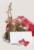 Weihnachten brief. — Stockfoto
