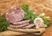 Headcheese pork — Stock Photo