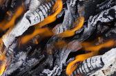 Brasas de fuego — Foto de Stock