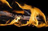 Fuego ardiente — Foto de Stock