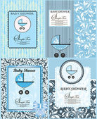 Baby Shower Announcement — Vector de stock