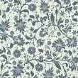 Seamless floral pattern — Vector de stock #15608507