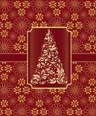 Carte de Noël — Vecteur