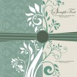 Elegance vintage invitation card place for text or message — Stok Vektör
