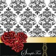 Wedding invitation card - Imagen vectorial