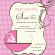 Baby Shower Announcement - Imagen vectorial