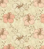 Floral einladungskarte — Stockvektor