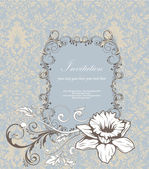 Invitation card — Vettoriale Stock