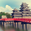 Matsumoto castle — Stock Photo #12637676