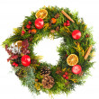 Christmas wreath — Stock Photo #13147901