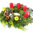 Christmas wreath — Stock Photo #13147904