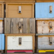 Brand new bee house - Stock Photo