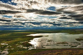 Lake at Myvatn — Stock Photo