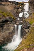 Icelandic waterfall — Стоковое фото