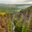 Glymur canyon — Stock Photo