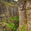 Glymur canyon - Stock Photo
