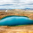 Viti is a beautiful crater lake of a turquoise color located on the North-East of Iceland, at Krafla geothermal area near the lake Myvatn HDR — Stock Photo #20189247