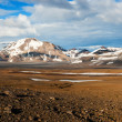 Mountains on Iceland — Foto Stock
