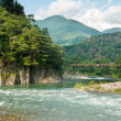 Japanese landscape — Stock Photo