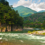 Постер, плакат: Japanese landscape
