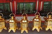 Lanterns in Japan — Stock Photo
