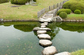 Stone zen path — Stock Photo