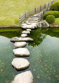 Stone zen path — Stockfoto