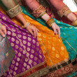 Bollywood dancers dress - Lizenzfreies Foto