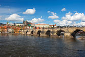 View at Prague castle — Stock Photo