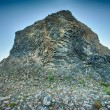 Stock Photo: Basalt rock