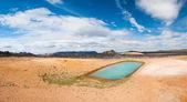 热水池 — 图库照片