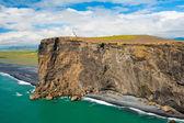Cape dyrholaey deniz feneri — Stok fotoğraf