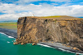 Faro di capo dyrholaey — Foto Stock
