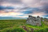 Sunset on Iceland — Stock Photo