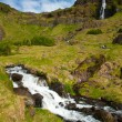 Stock Photo: Waterfall on Iceland