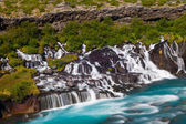 Hraunfossar — Stock Photo