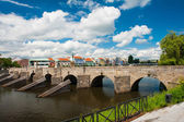 Bridge in Pisek — Stock Photo