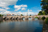 Bridge in Pisek — Stock Photo