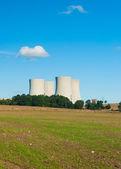 Usina nucler — Fotografia Stock
