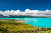 Der lake pukaki — Stockfoto