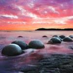 Moeraki boulders — Stock Photo #39250765