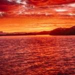 Sunset at Chinderah — Stock Photo #40290167