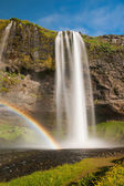 Seljalandsfoss — Stockfoto